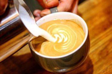 drinks at Kapow Coffee Leeds