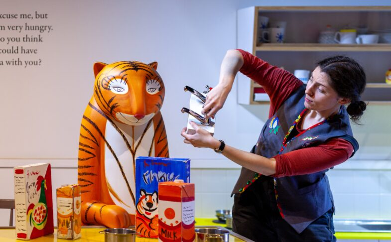 The Tiger Who Came to Tea and the adventures of Mog the Forgetful Cat at Z-arts