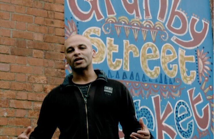 Poet and performer Curtis Watt.