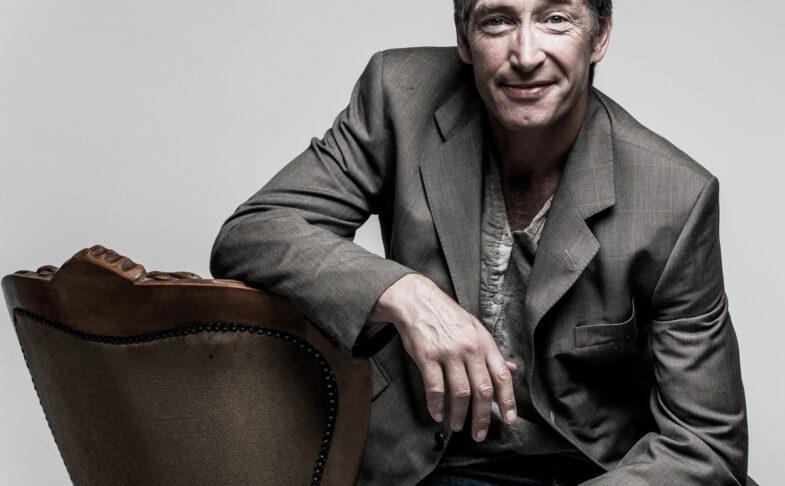 Poet Mike Garry. Photo Paul Wolfgang Webster