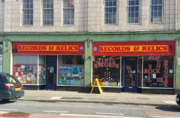 Records and Relics frontage