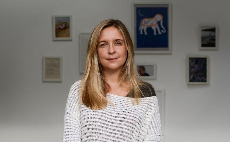 Writer Louise Finnigan.