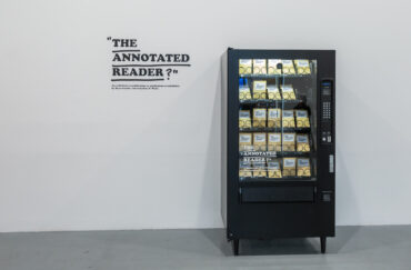 The Annotated Reader at Castlefield Gallery in Manchester