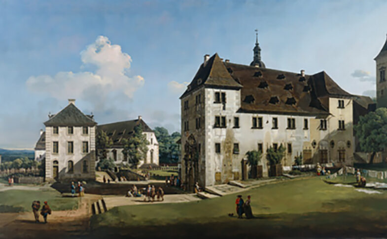 Bellotto: Views on a Fortress at Manchester Art Gallery