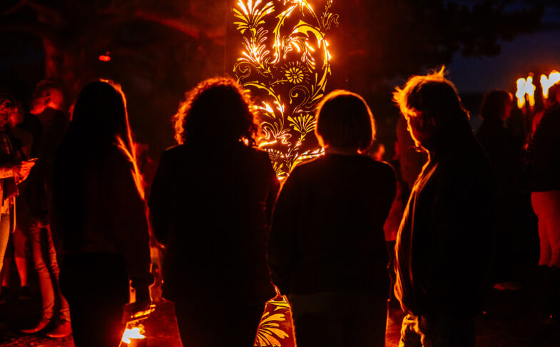 The Fire Garden at HOME
