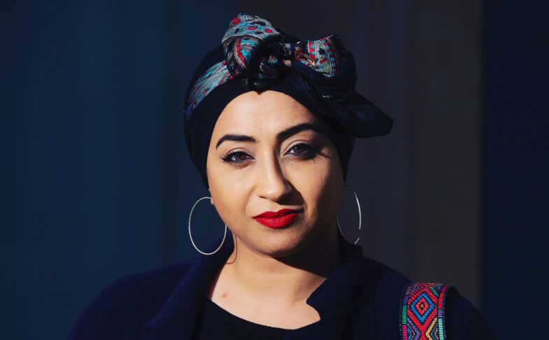 Postcards from The Road Poet Hafsah Aneela Bashir.