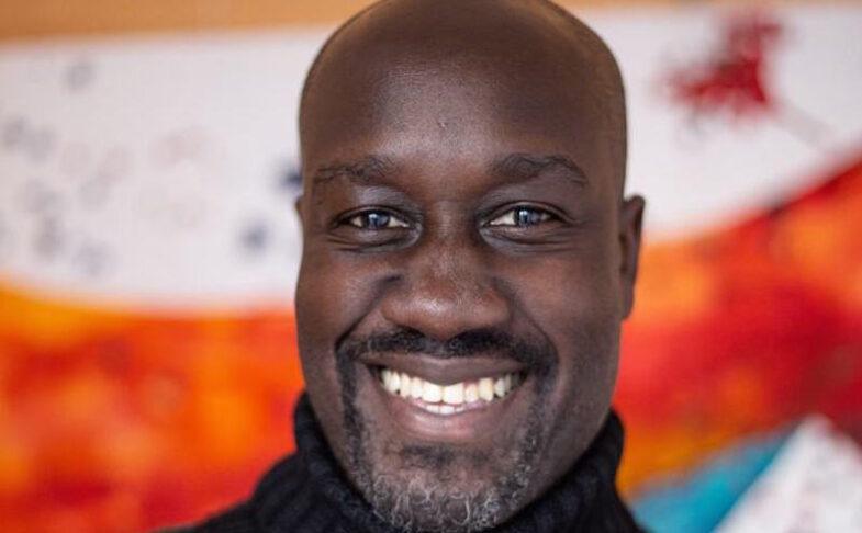 Author Musa Okwonga.