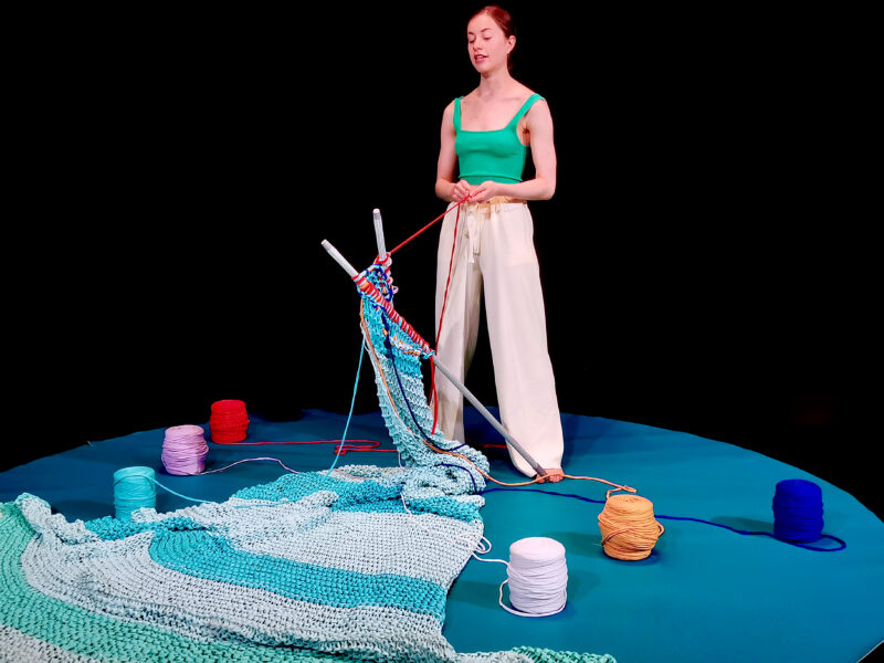 Synagogue Nights: She Seeks Out Wool by Sophie Ablett.