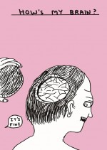 David Shrigley, How's My Brain (2), Copyright and courtesy the artist