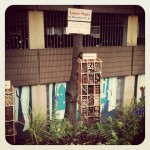 Bug hotel in the Northern Quarter by Creative Tourist